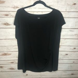 Lane Bryant 22/24 Black Blouse - Great Condition!